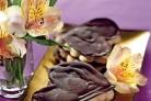 Шоколадные сердечки со сливочным муссом