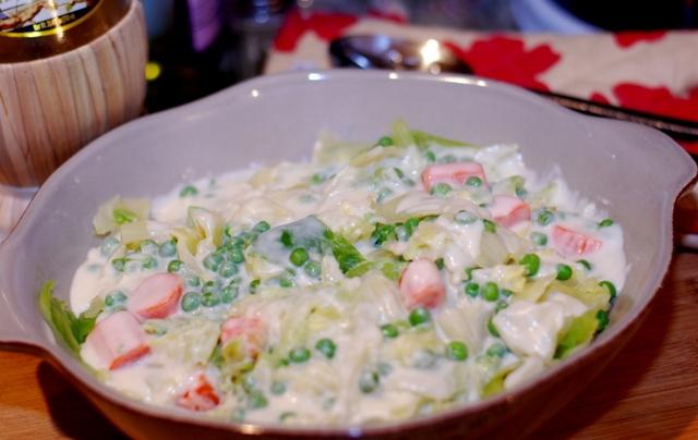 Овощи под соусом бешамель - фото шаг 3