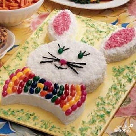 """Торт """"Пасхальный кролик"""""""