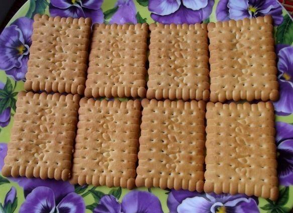 """Торт """"Минутка"""" из печенья - фото шаг 7"""