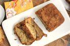 Хлеб с корицей и бананом