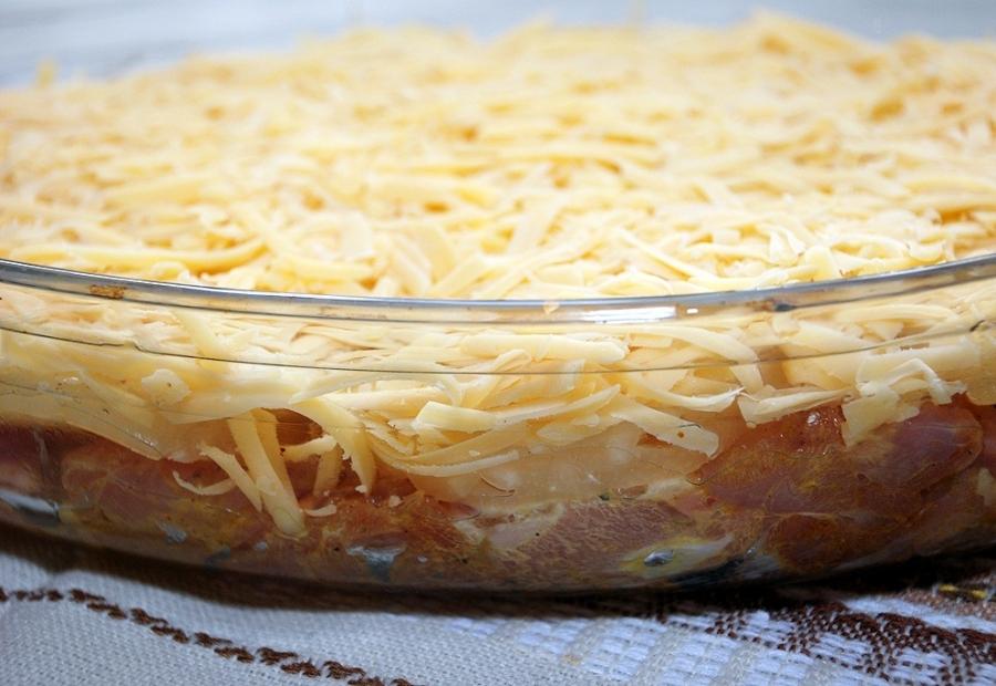 Курица с ананасами и сыром - фото шаг 4