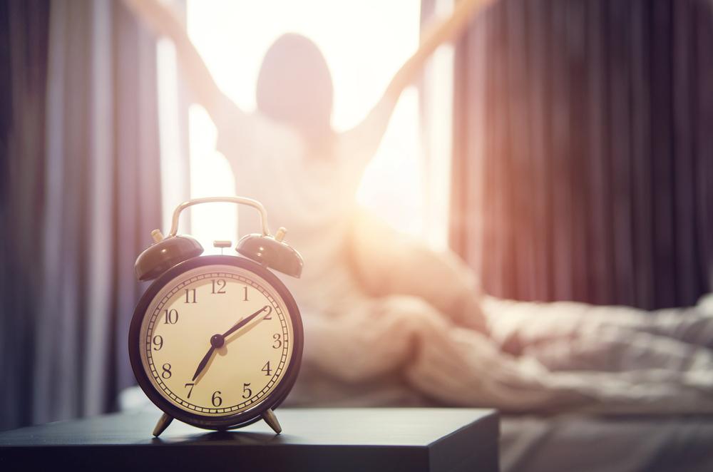 Соблюдайте график утреннего подъема для похудения