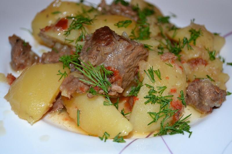 картофель бараниной рецепт фото