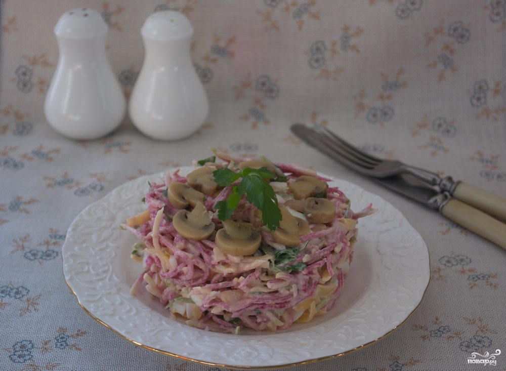 салат баклажаны с сыром