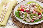 Салат с мясом курицы