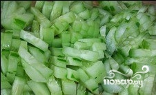 Постный салат из капусты - фото шаг 3