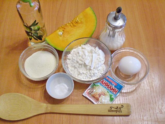 Рецепт Оладьи из тыквы с манкой