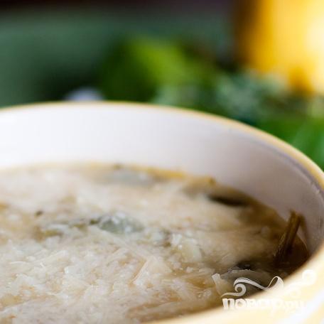 Суп со шпинатом и орзо - фото шаг 6