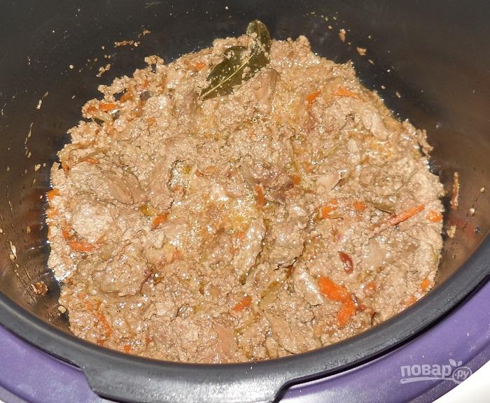 Как вкусно приготовить печенку со сметаной
