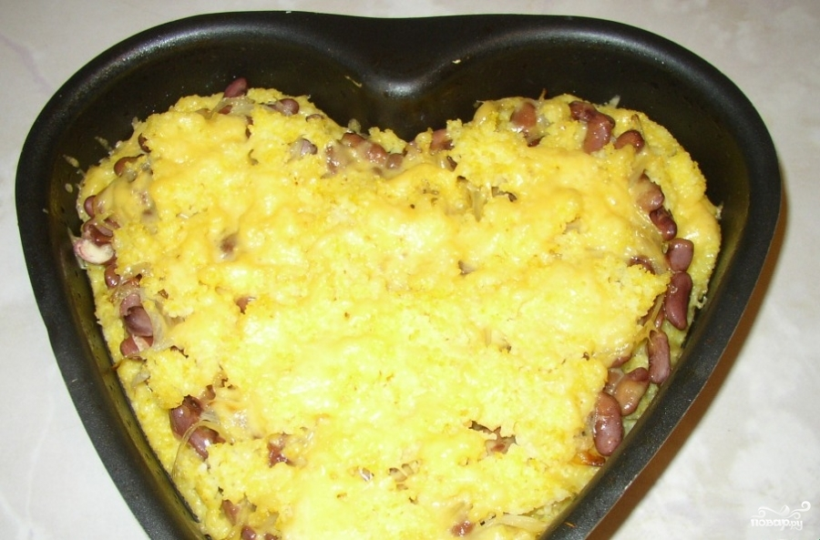 Пирог рецепт с фасолью рецепт