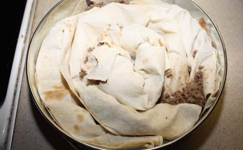 Пирог из лаваша - фото шаг 2