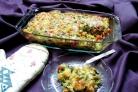 Овощи в духовке под сыром