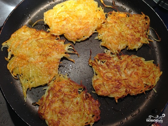 Картофельные оладьи постные - фото шаг 2