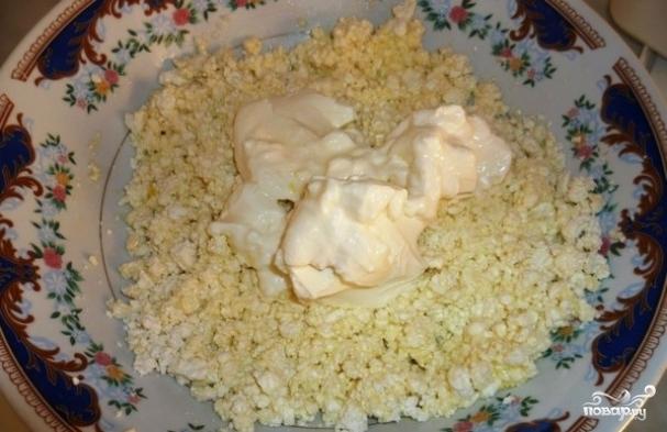рецепт творог яйцо манка в мультиварке