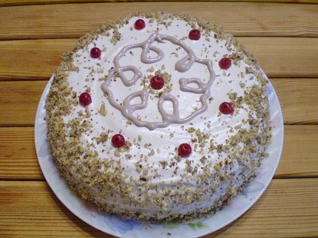 Торт черносливовый - фото шаг 16