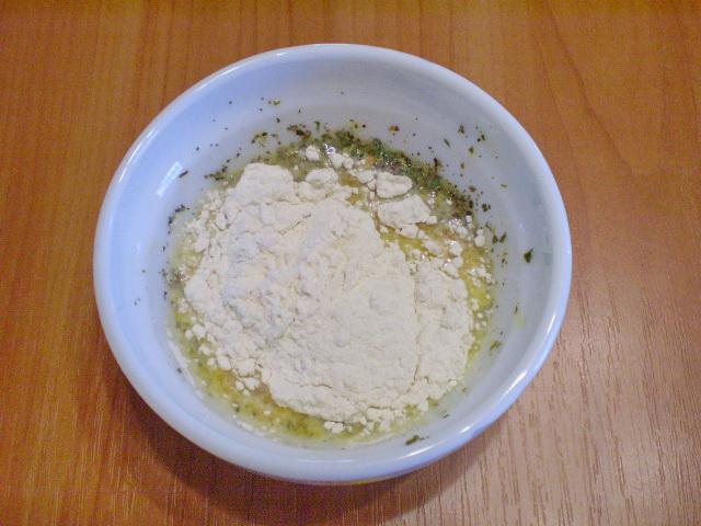 Кляр из яйца и муки - фото шаг 5