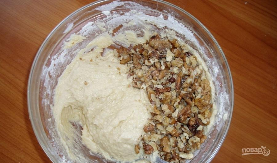 Пирог с грецкими орехами - фото шаг 2
