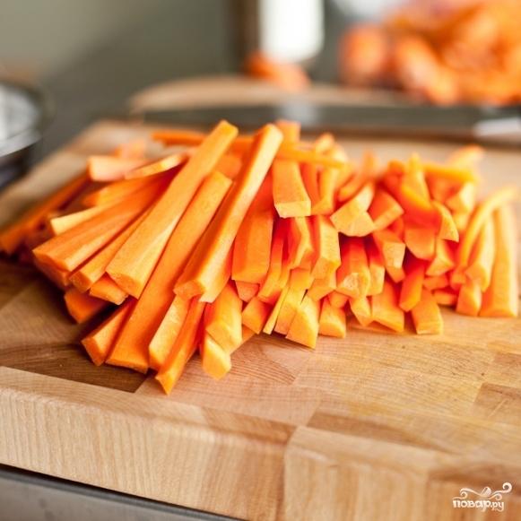 Маринованная морковь - фото шаг 2