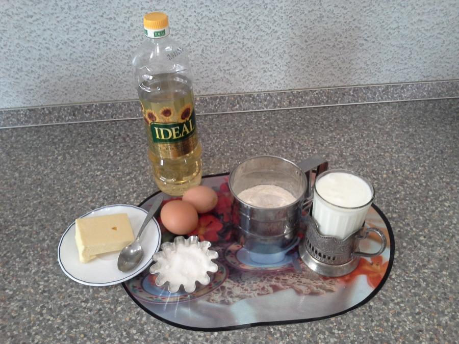 Рецепт Блины на кефире кружевные