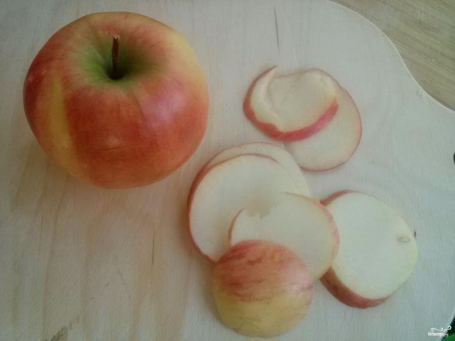 Яблочный пирог со сметанной заливкой (очень вкусный) - фото шаг 5