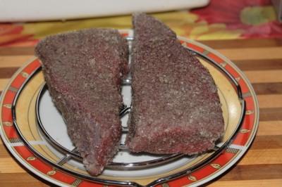 Сыровяленая говядина - фото шаг 3