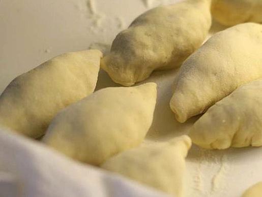 Пирожки с фаршем на сковороде - фото шаг 4