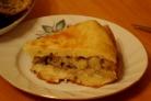 Пирог с грибами и картошкой в мультиварке