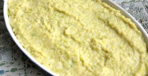 Пудинг из цветной капусты - фото шаг 6