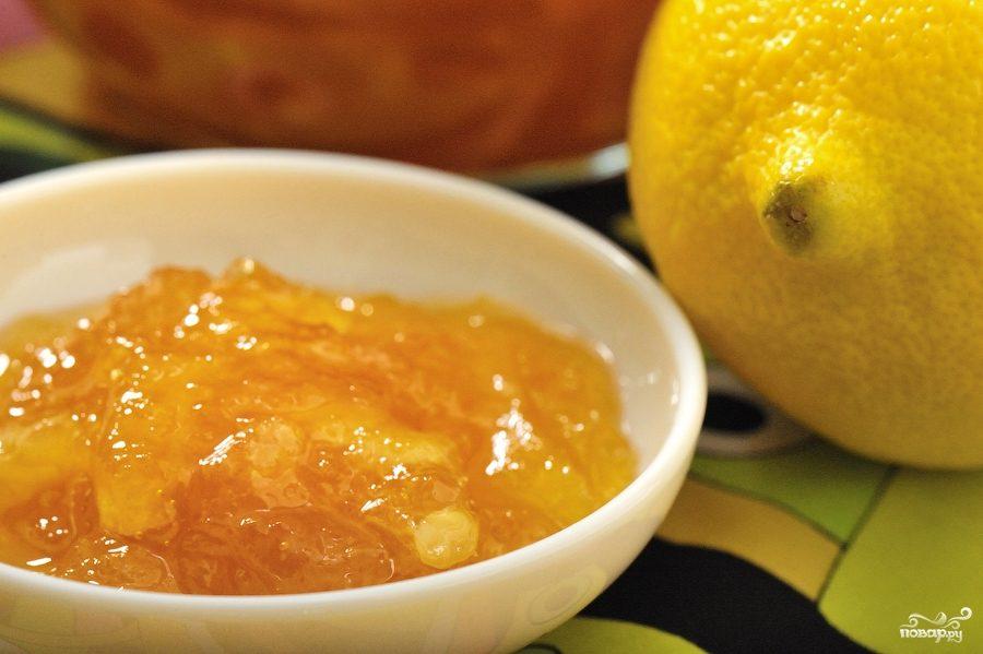 Рецепт Лимонный конфитюр