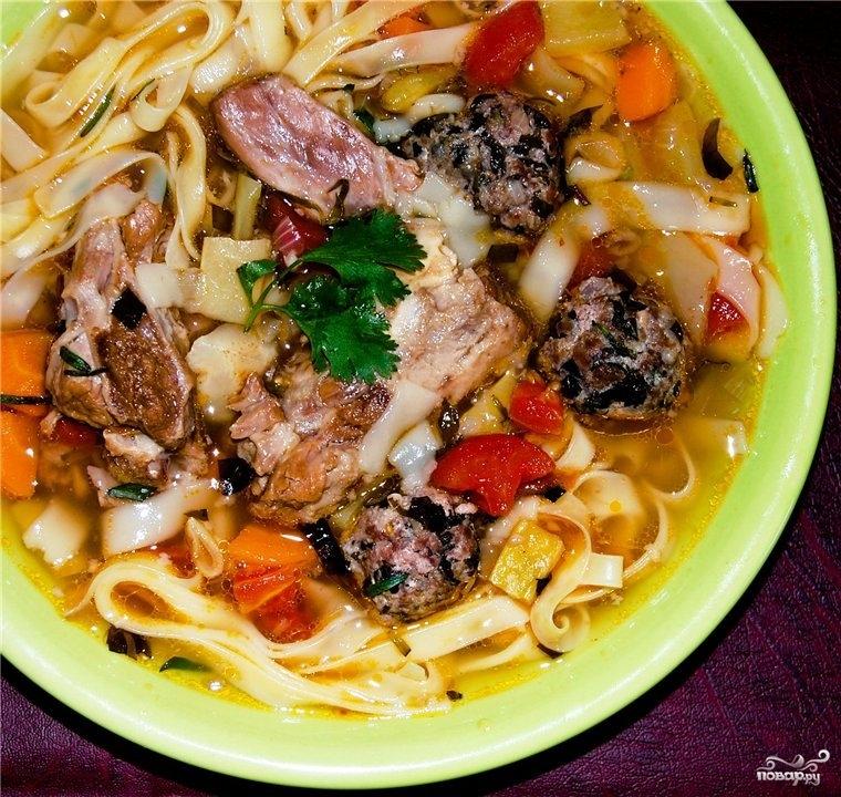 Суп из телячьего хвоста - фото шаг 14