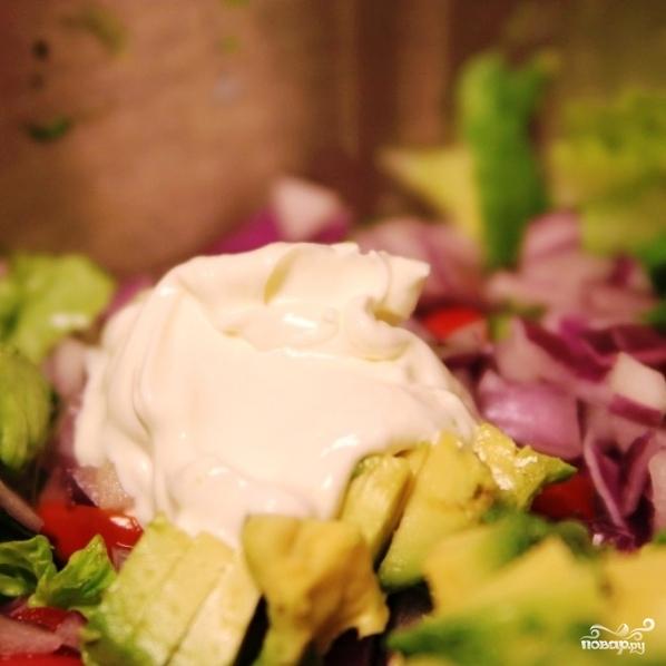 мексиканский салат с курицей и морковью рецепт