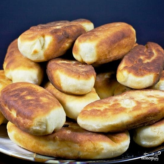 Пирожки с мясом и рисом - фото шаг 21