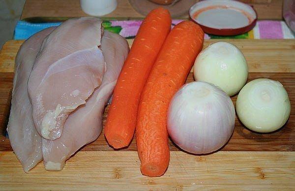 Рецепт Фаршированный перец диетический