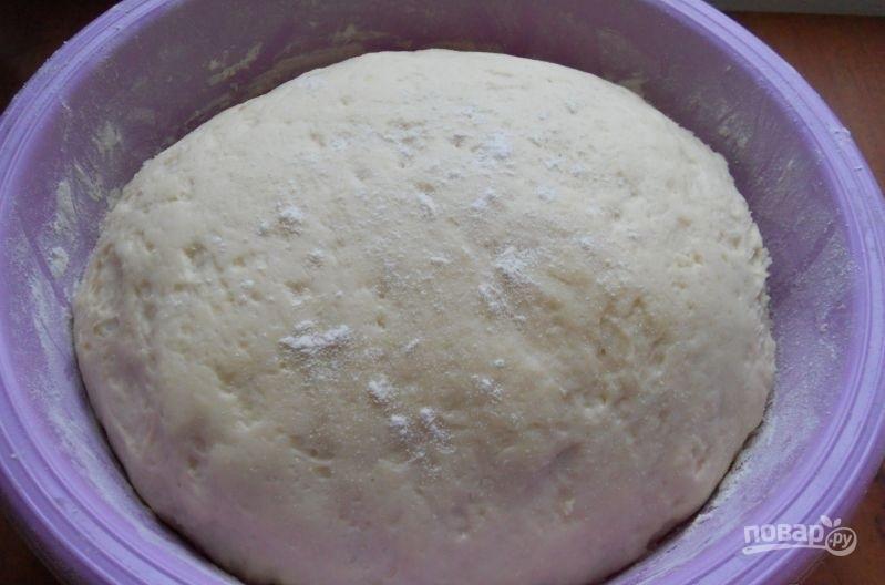 Дрожжевое тесто для пончиков - фото шаг 6