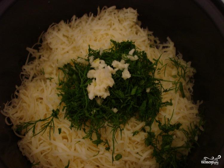 Эклеры с сырной начинкой - фото шаг 6