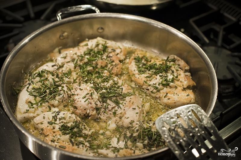 Курица по-флорентийски - фото шаг 5