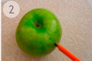 Легкая новогодняя закуска из овощей - фото шаг 2