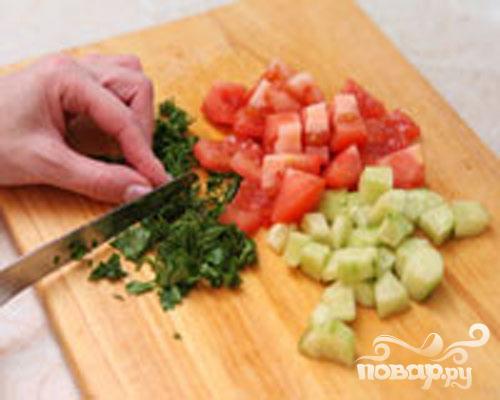 Салат из булгура - фото шаг 2