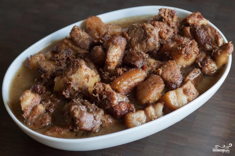 Мясо по-филиппински - фото шаг 8