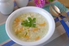 Диетический суп из кабачков