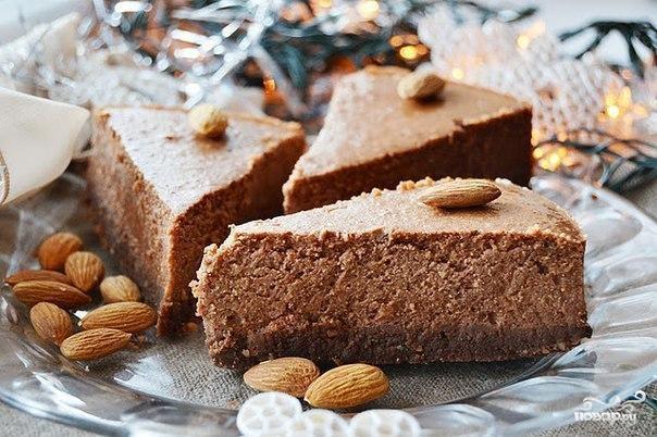 Рецепт Шоколадно-ореховый чизкейк