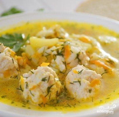 фрикадельки куриные рецепт приготовления супа