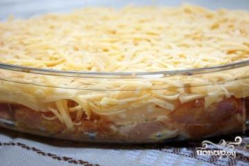 Куриные отбивные с ананасом и сыром в духовке - фото шаг 4