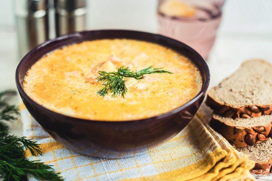 пюре суп из семги со сливками рецепт с фото