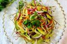 Салат с кальмарами классический
