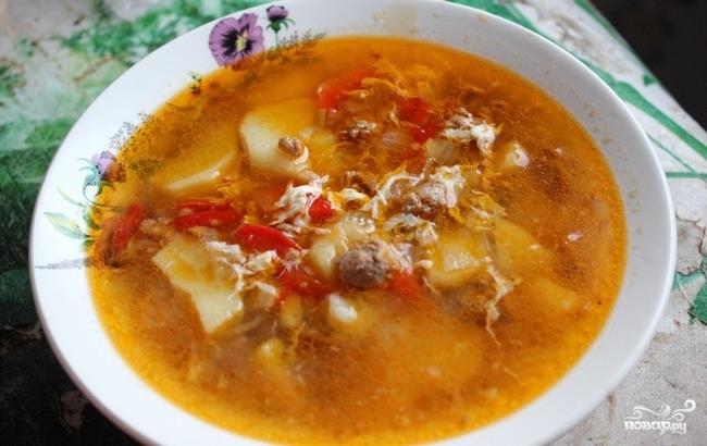 суп из синеньких рецепт с фото пошагово