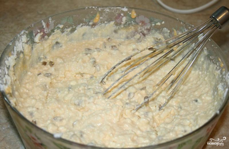 Творожная запеканка на молоке - фото шаг 4