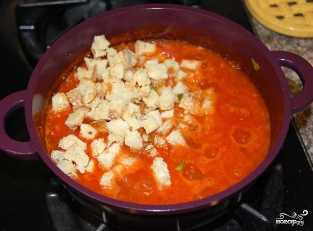 Помидорный суп - фото шаг 3