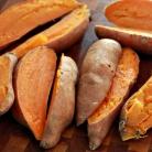 Рецепт Ньокки из сладкого картофеля с сырным соусом
